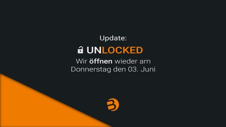 Read more about the article Wir dürfen wieder öffnen!!!